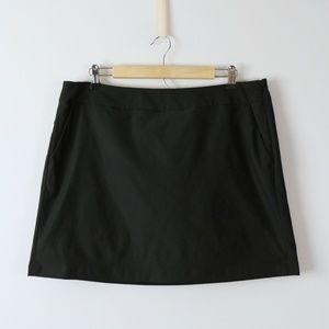 Nike Dri-Fit Golf Skirt Built-in Shorts Skort